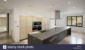 kitchen design cheshire kitchen in show home highfield prestbury cheshire uk stock