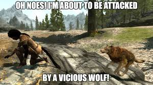 Wolf Memes - viscious wolf meme by secretsigil on deviantart