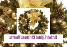 lighted christmas wreaths for windows large outdoor lighted christmas wreaths christmas bow wreaths