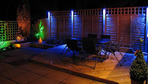 led garden lighting patio lighting