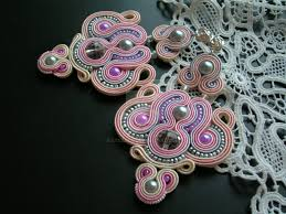 soutache earrings soutache earrings candy shop 2 by stszala on deviantart