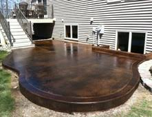 charming ideas for concrete patio also interior home paint color