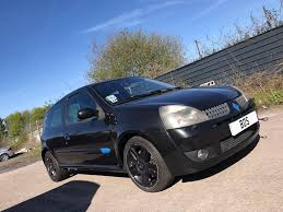 renault clio sport interior breaking black renault clio sport 172 182 for parts bodykit