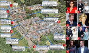 kensington palace apartment the arrival of eugenie who has been sharing a four bedroom