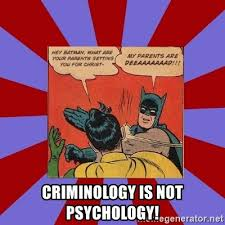 Batman And Robin Meme Creator - criminology is not psychology batman slapping robin meme generator