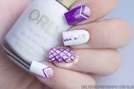 nail art society u2013 shattered glass u0026 diamond nails