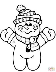 lofty design ideas snowman color pages snowman coloring pages