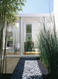 small indoor garden design in modern marin county residence by