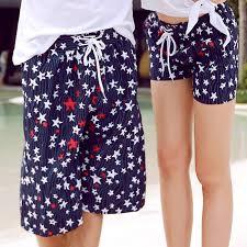 online shop couple set beach shorts women u0027s board shorts 2 pieces