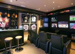 home theater design decor living room amazing living room and home theatre in sport theme