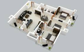 home layout 25 three bedroom house apartment floor plans