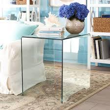 glass side table wisteria
