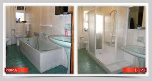 trasformare una doccia in vasca da bagno da vasca a doccia trasformare la vasca in doccia