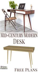 Music Studio Desk Plans by Best 20 Mid Century Modern Desk Ideas On Pinterest Mid Century