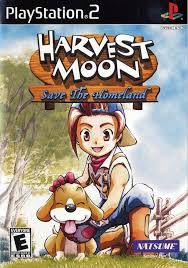 harvest moon moon save the homeland sony playstation 2 game