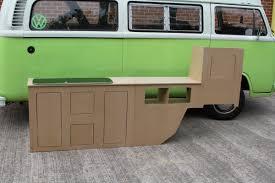 volkswagen van interior volkswagen t2 interior cupboards newland designs