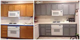 Ash Kitchen Cabinets by Amazing How A Small Change Like Painting Cabinets Can Make Such