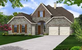 princeton home plan by gehan homes in waters edge