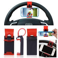 supporto volante supporto da auto compatto universale volante sterzo per smartphone