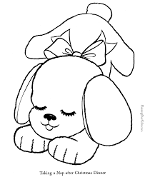 dog coloring pages kids free printable puppy coloring pages