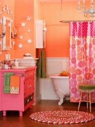 orange bathroom decorating ideas best pink and orange bathroom sets home decor interior exterior