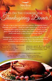 thanksgiving meals delivery thanksgiving catering and menu 2016