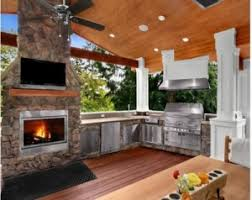 Outdoor Entertaining Spaces - granite transformations new kitchen designs granite