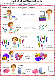 lower kg math part 2 worksheets cbse icse uptoschoolworksheets