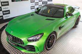 mercedes green the shockingly green mercedes amg gt r is a track the verge