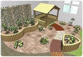 Garden Corner Ideas Nursery School Playground Corner Garden Wooden Garden