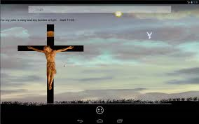 jesus on cross live wallpaper android apps on google play