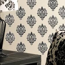 amazon com wallies wall decals beautiful black baroque wall