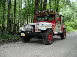 reference jeep wrangler guide jurassic park motor pool