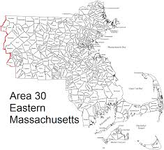 Concord Massachusetts Map by District 24 General Service Committee Of Area 30