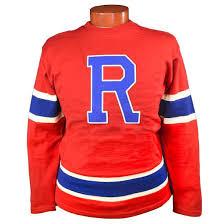 new york rovers 1950 hockey sweater ebbets field flannels