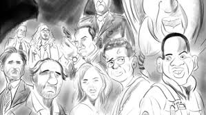 independence day movie 20th anniversary caricatures cartoon