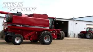 case ih 2388 combine sold on els youtube