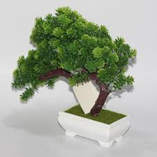 artificial decorative trees for the home new plastic artificial tree plants landscape flower bonsai trees