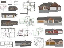 free house plan floor plan blueprint small house plans small modern house designs