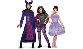 Halloween Costume Maleficent Building Disney U0027s Descendants Costumes Family Halloween