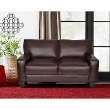 faux leather sofas u0026 loveseats hayneedle