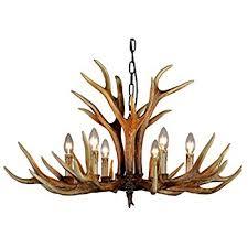 Antler Chandelier Shop Twelve Light Deer Antler Chandelier Lighting 36in Chain