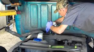 mazda pick up fuel pump replacement youtube