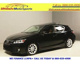 2012 lexus hybrid warranty 2011 lexus ct 200h 2011 premium black brown warranty 018232 texas