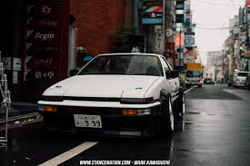 stanced toyota old perfection takanobu u0027s toyota sprinter trueno