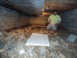 crawlspace vapor barrier installation quality foundation repair