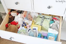 How To Organize Nightstand Nursery Dresser Organization