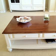 white wood coffee table coffee table with brown wooden top and white wood bottom except for