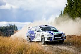 subaru rally impressive performance from subaru at pacific forest rally