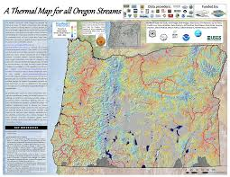 Map Tools A Thermal Map For All Oregon Streams Links To Better Quality